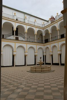 "Convento de San Leandro: "" Many nuns in the convents of Sevilla earn their living selling sweets and confections. Their recipes come from the times of the Romans and Moors, which they have preserved over the ages."""