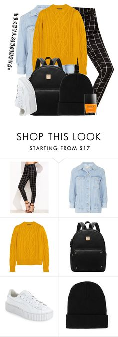 """FORGET HER ~ verhoog"" by fashionista2704 on Polyvore featuring Topshop, Isabel Marant, Puma and Butter London"