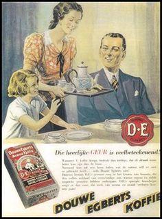 Douwe Egberts advertentie uit 1950