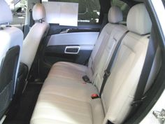 Plenty Of Room, Front Seat Back Storage . . .