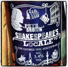 Pete Brown's Shakespeare Locale at the George, near Borough Market, London