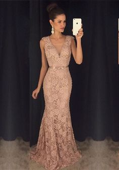 Hot Sales Deep V-neck Prom Dresses,Lace Prom Dresses,Mermaid Evening Dresses,Party Gowns Lace Prom Gown, Mermaid Prom Dresses Lace, Prom Dresses 2016, V Neck Prom Dresses, Elegant Prom Dresses, Prom Party Dresses, Lace Dress, Sexy Dresses, Quinceanera Dresses