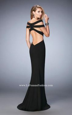 A little lace goes a long way JVN 36762 Prom Dresses a26228079