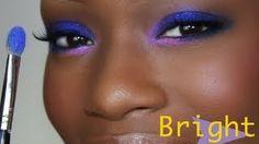 bright eye makeup by destiny godley