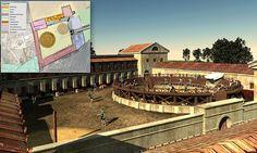 Gladiator school found!