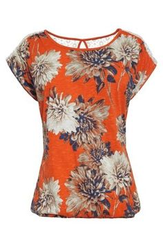 Buy Floral Bubble Hem Top from the Next UK online shop