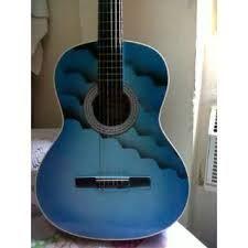 guitarra acustica azul - Google Search