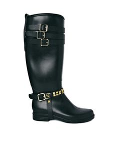 Supertrash Sammy Knee High Wellington Boots