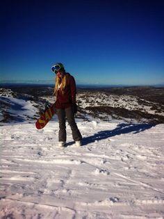 Snowboarding gggg at Perisher Mountain yepyep