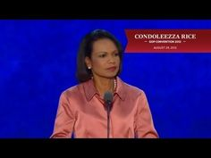 """Secretary Condoleezza Rice - """"a little girl grows up in Jim Crow Birmingham [Ala.], the segregated city of the South, where her parents cannot take her to a movie theater or to restaurants, but they have convinced her that even if she cannot have a hamburger at Woolworth's, she can be the president of the United States if she wanted to be, and she becomes the secretary of state."""""""