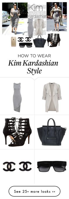 Kim Kardashian Look By Gabymailk On Polyvore Kim