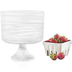 Martha Stewart Footed Bowl