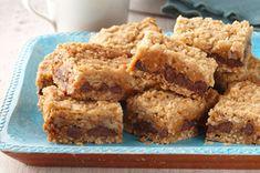 Chocolate, Caramel and Oatmeal Bars recipe