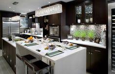 black white contemporary kitchen design