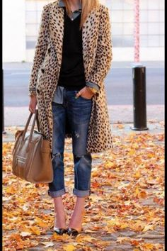Leopard print is like a vitamin - you should probably get some daily.