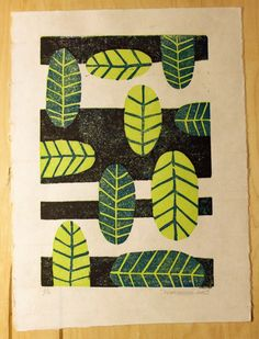 Today I'm sharing the process of creating my first reduction linoleum block print from sketchbook to final print. A reduction print is made using one block (in this case linoleum) that you carve mu...
