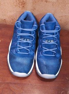 b54bd889eca Nike Air Jordan 11 XI Retro 2017 Low Blue Moon Youth 580521-408 size 4Y   fashion  clothing  shoes  accessories  kidsclothingshoesaccs  unisexshoes  (ebay ...