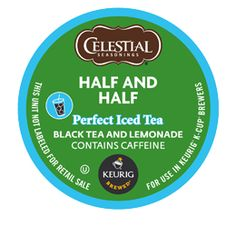 My favorite for the Keurig. I brew it with some honey over the ice and it gives it a little bit of sweetness. Half and Half Black Perfect Iced Tea