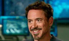 """Robert Downey Jr . on the set of """"Captain America: Civil War"""" for Good Morning America"""