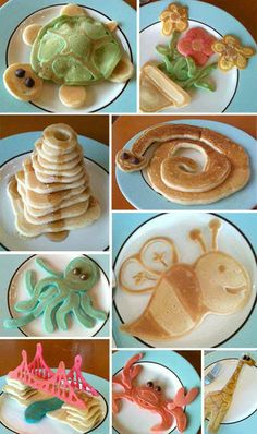 Crazy pancake art…