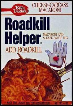 Roadkill Food Recipes