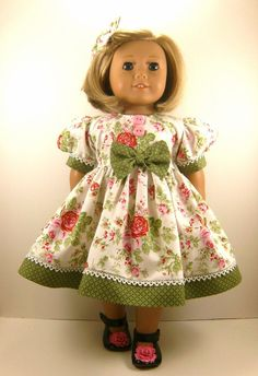 Fits American Girl Doll Clothes 18 Inch Sweet by dressurdolly2, $22.00