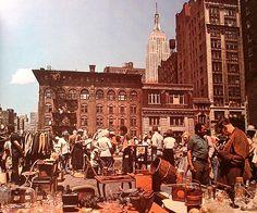 New York City 1970's Street Flea Market