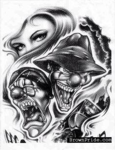 61 Best Chicana Art Images In 2013 Chicano Drawings Mexican Art