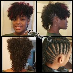 30 Best Crochet Mohawk Images Natural Hair Braided Hairstyles