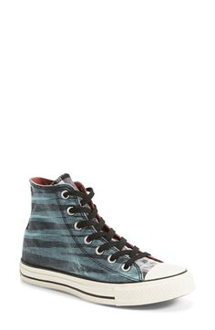 Converse x Missoni Chuck Taylor® All Star® 'Washed Space Dye' High Top Sneaker (Women) (Online Only)
