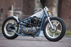 Thunderbike Speed Freak. Customized Harley-Davidson Ironhead Sportster by Thunderbike.