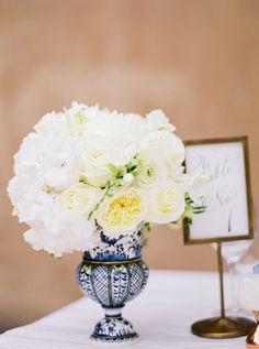 Wedding Centerpiece | Photography: brancoprata | See more on #SMP: http://www.stylemepretty.com/2013/12/06/portugal-styled-shoot-from-karson-butler-events-wiup-winners/