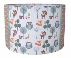 Kinderlamp Forest Friends Blue