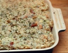 Amish recipe - Pennsylvania Dutch Potato Filling is a mix between stuffing and mashed potatoes. It's a good Pennsylvania Dutch recipe to make after Thanksgiving since you'll likely have leftover mashed potatoes on hand. Potatoe Casserole Recipes, Potato Recipes, Potato Stuffing Recipes, Amish Stuffing Recipe, Reuben Casserole, Beef Casserole, Meatloaf Recipes, Turkey Recipes, Thanksgiving Side Dishes