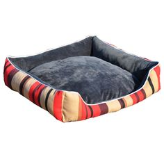 Aimeer Luxury Canvas Waterproof Memory Foam Dog Bed with Removable Cushion, Machine Washable Indoor or Outdoor Luxury Medium Pet Bed * Click image to review more details. (This is an affiliate link) #DogBeds