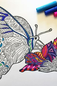 zebra zentangle coloring page adult coloring craft and coloring books - Zentangle Coloring Pages For Adults