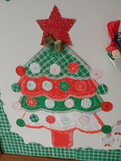 Detalhe painel de Natal - Escola Experimental - Ana Dias