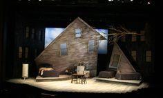 Death of a Salesman, Indiana Repertory Theatre. Scenic Design: Erhard Rom