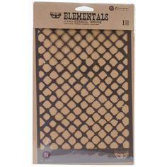 "Prima Elementals Stencil 6.5""x10.25"" - Netting"