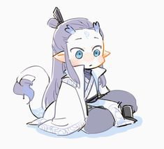 Cute Anime Chibi, Fire And Ice, Anime Fantasy, Chinese Art, Baby Love, Wallpaper, Anime Art, Pokemon, Kawaii
