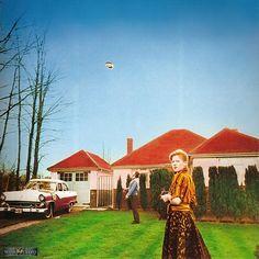 "Hipgnosis: Sleeve art for UFO's ""Phenomenon"" (1974)"