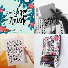 tipógrafos brasileiros calígrafos handlettering instagram Phellipe Wanderley Coisas Boas Acontecem
