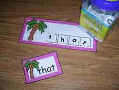 These Chicka Chicka Sight Word Letter Tile Cards are just one of the thousands of resources that Jo Kramer of Making Learning Fun has generously shared with teachers of young children.