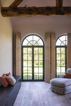 An Old World Design Element I'm Obsessed With And Tried HARD To Bring Into The Farmhouse (Hint: Interior Shutters) - Emily Henderson #interiordesign #homedesign #oldworld