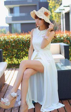 女性のための定番ワンピース通販 ロング ワンピース レディースファッション Onepice-015WL [Onepice-015WL] - ¥5,690円 : メンズとレディースとキッズのファッション バッグ 財布 シューズ ジュエリー 最新人気アイテムの通販公式サイト:ROSO(ロソ)