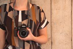 Camera strap | Camera wrap | Camera riem | Grijs | Travel products | Reizen | Photograph | Grass and Canvas