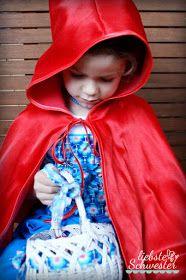 liebste schwester: mein Rotkäppchen - Faschingskostüm für Mädchen