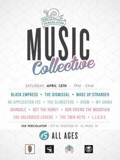 Local Music, Live Show at The Percolator | April 13th Saturday 2013