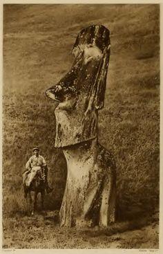 Routledge, 'The Mystery of Easter Island' publ. 1920 - Moai - Isla de Pascua - Wikimedia Commons