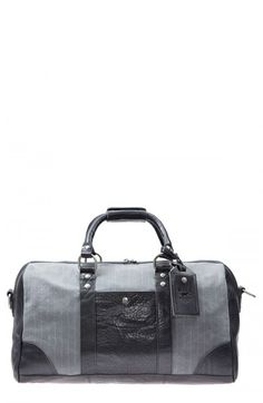 Will Leather Goods Men's Snowbird Duffel Bag Grey